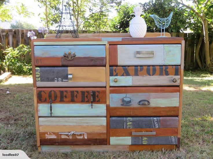 Rustic Recycled Rimu Lowboy | Trade Me