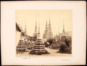 Royalty and Religion: Photographs of Late Nineteenth-Century Thailand. 13 January – 26 May 2014