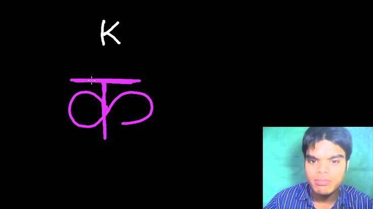 Learn Hindi Letters  - K