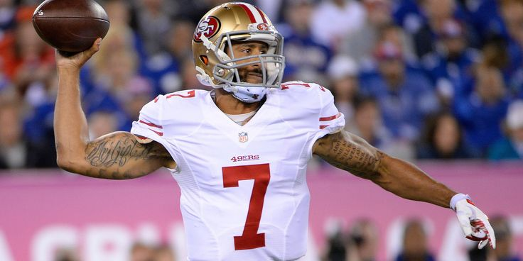 Why Colin Kaepernick Refused To Stand For The National Anthem Before A 49ers Preseason Game #Sport #iNewsPhoto