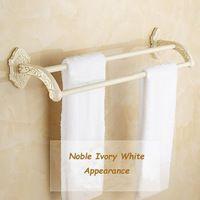 Dubbele handdoek bar handdoekenrek handdoek opknoping badkamer hardware accessoires sl-24