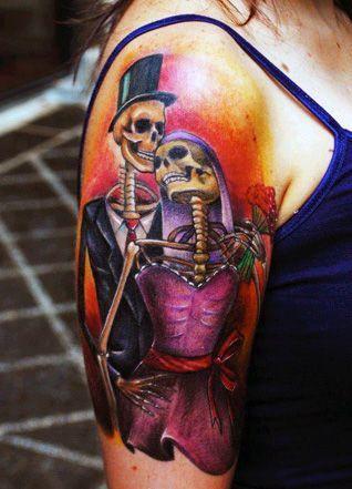 tatuaże damskie miłosne