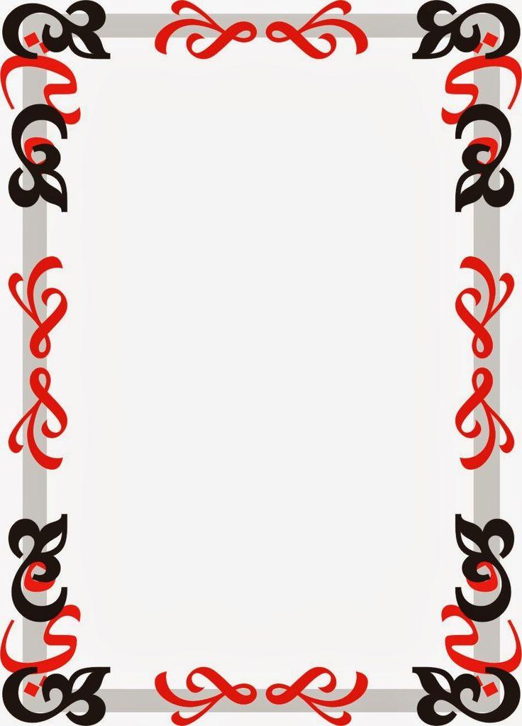 Ornamento Exotico en Rojo y Negro                                                                                                                                                     Más