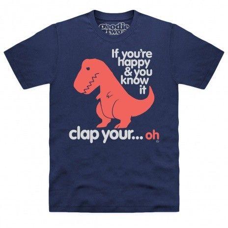 Goodie Two Sleeves Sad T Rex Organic T Shirt