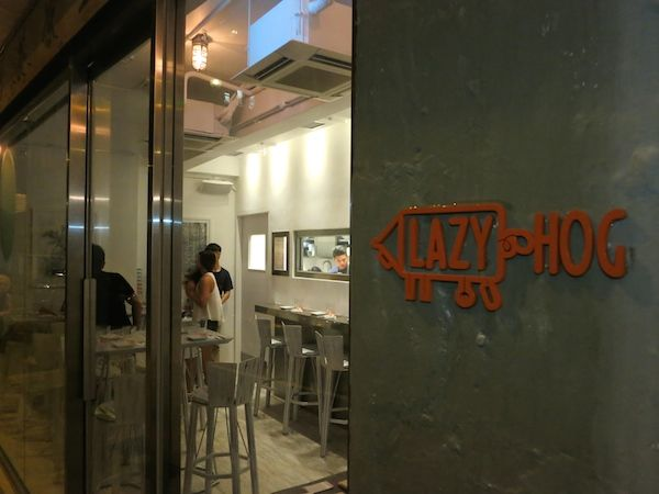 Lazy Hog 29 31 Bridges Street Sheung Wan Serving New American Sharing Dishes