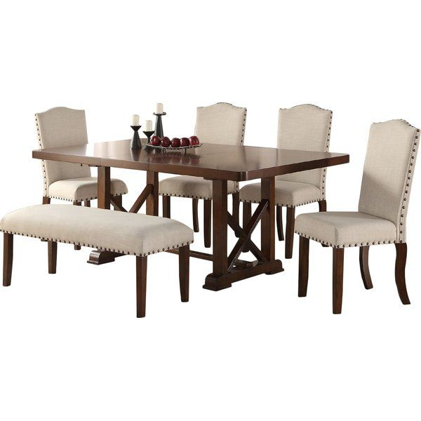Gather With Friends And Family For A Dining Experience Of Modern Luxury With This Formal Dining S Dining Room Sets Kitchen Dining Sets Kitchen Dining Furniture