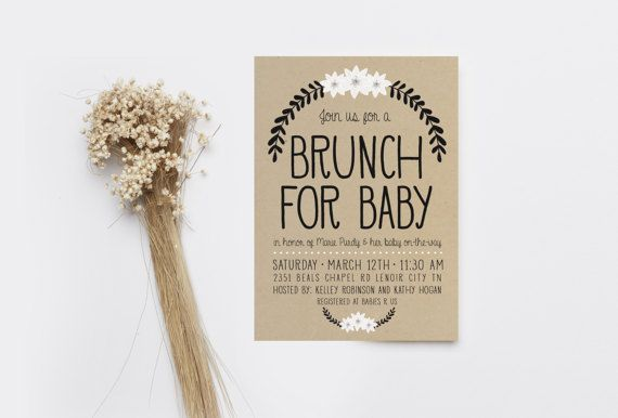• Customizable to any age / event / font color / wording • Digital 5x7 inch PDF Invite: print it yourself on WHITE PAPER (brown texture is included in the design) • Or have the invites printed and shipped to your home: https://www.etsy.com/listing/516553523 :::::::How to order