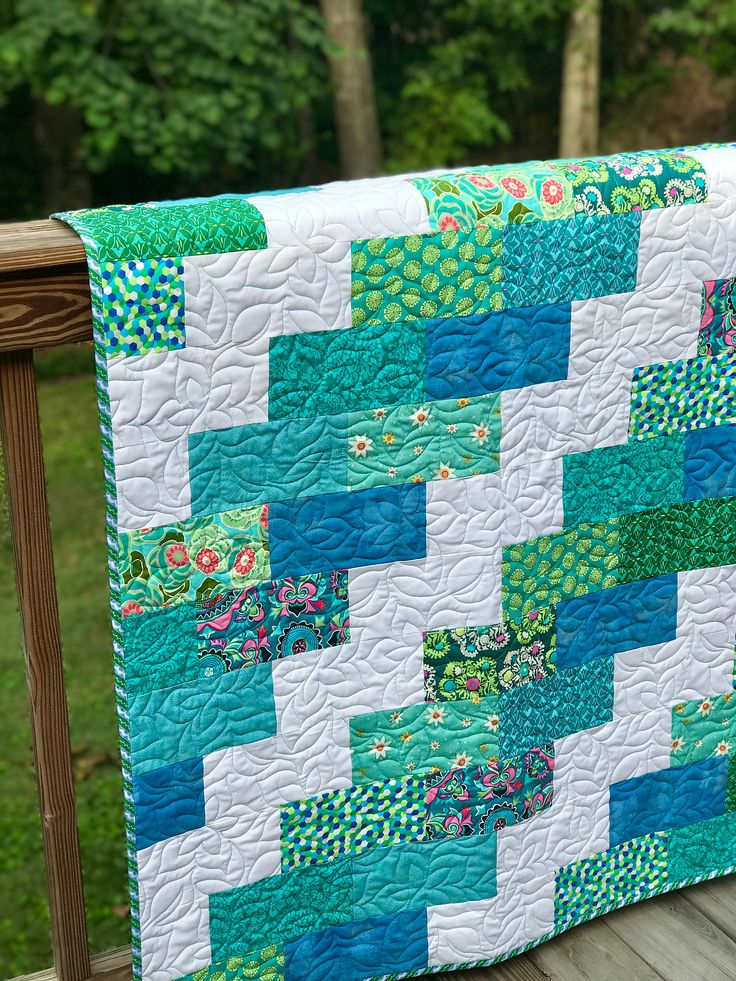 I was inspired by Pinterest to come up with some kind of easy quilt pattern for our Threads of Love quilting group at our church. We have a new session c