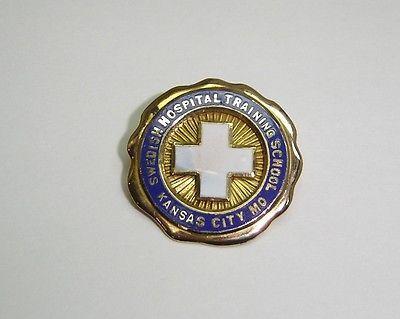 SWEDISH HOSPITAL TRAINING SCHOOL, KANSAS CITY MO, PIN IN 14K YELLOW GOLD N533-I