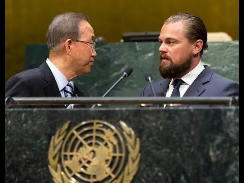 Leonardo DiCaprio's (UN Messenger of Peace) speech  at the opening of Climate Summit 2014 - Thank you Leonardo DiCaprio for all you have done and all you are doing for people and planet. #PeoplesClimate #ActOnClimate #NowNotTomorrow
