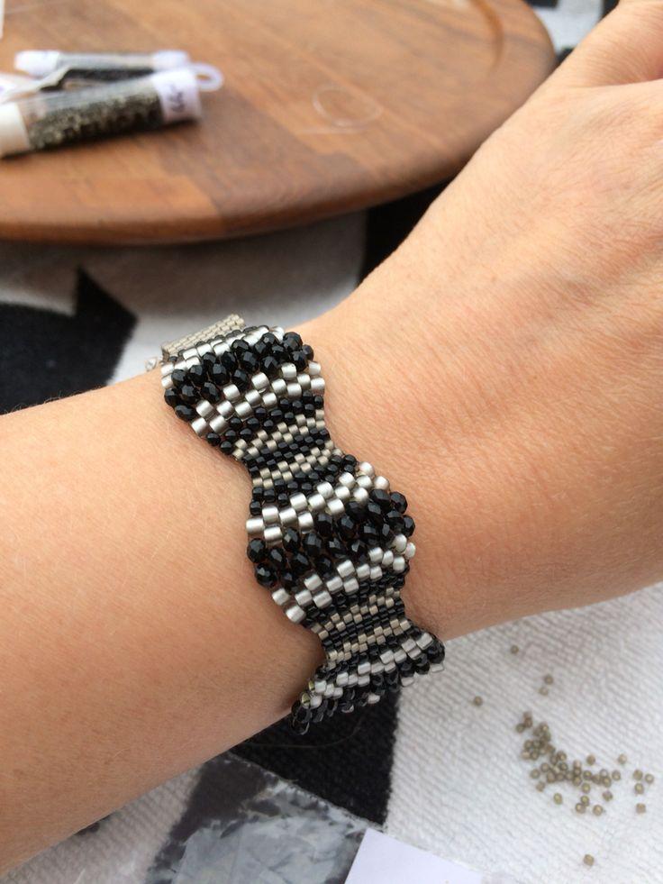 Beaded bracelet sneak peek ☀️ available soon www.stopandwearjewelry.com