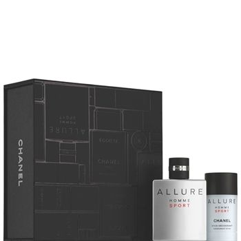 CHANEL - ALLURE HOMME SPORT Deodorant Stick Set More about #Chanel on http://www.chanel.com