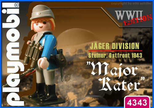 """Jaeger Division """"Major Kater"""" // The image and figures do not necessarily reflect the opinion of Playmobil. #playmobilcustom"""