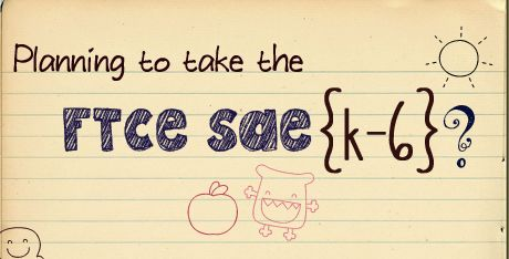 Tiny Owl Teachings: Planning to take the FTCE SAE (K-6) Exam? Read this first!