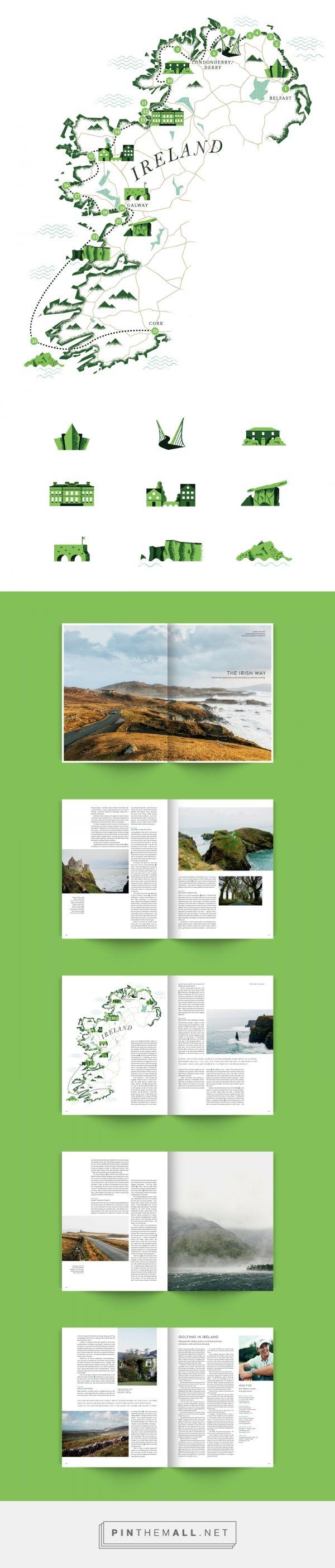 The Irish way - Omega Lifestile Magazine on Behance - created via https://pinthemall.net