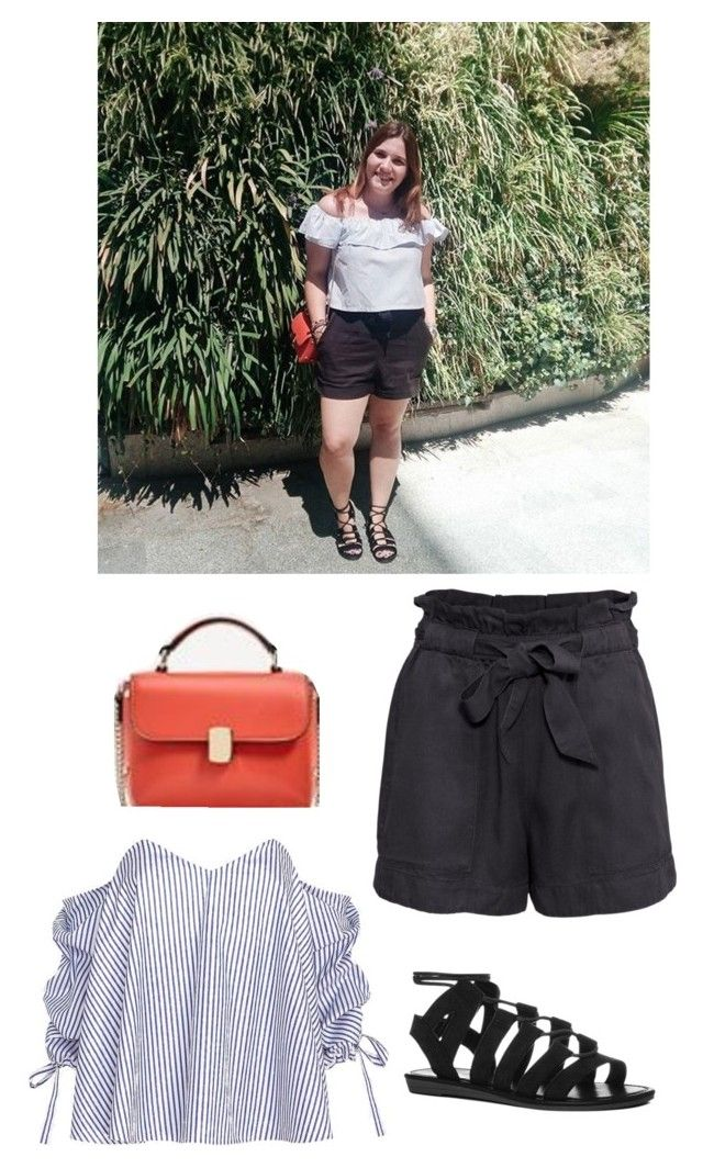 """Vacation Outfits #3"" by theeuropeancloset on Polyvore featuring H&M and Caroline Constas"