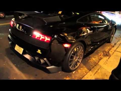 Real Cool Car Blancpain Lamborghini On The Street