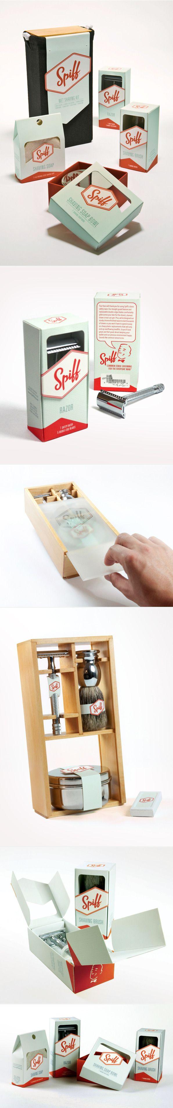 Unique Packaging Design, Spiff #packaging #design (http://www.pinterest.com/aldenchong/)