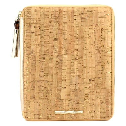 Elaine Turner Spring 2013 Zanzibar Collection - iPad case in Cork