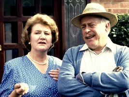 Keeping Up Appearances - Suburban sitcom about a super-snob intent on climbing the social ladder, starring Patricia Routledge, Clive Swift and Geoffrey Hughes