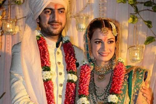 Dia Mirza's wedding October 18th 2014. (Latest News Headlines & Current Affairs - Times of India Mobile)