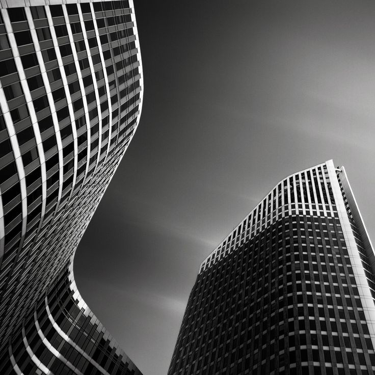 Black and White Architecture Photography by Joel Tjintjelaar