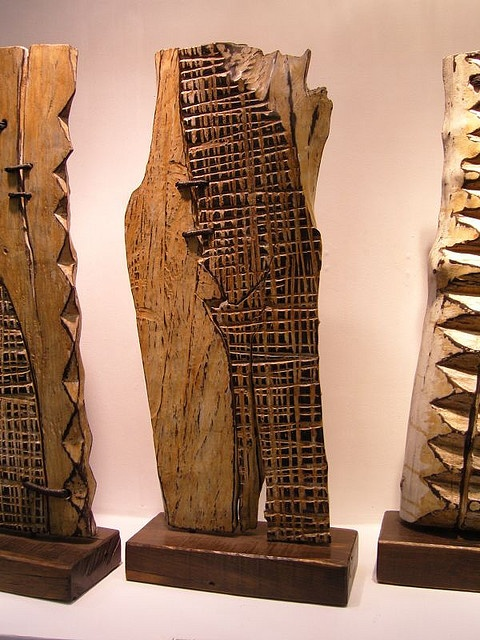 wood sculpture by george peterson by OKlosangeles, via Flickr