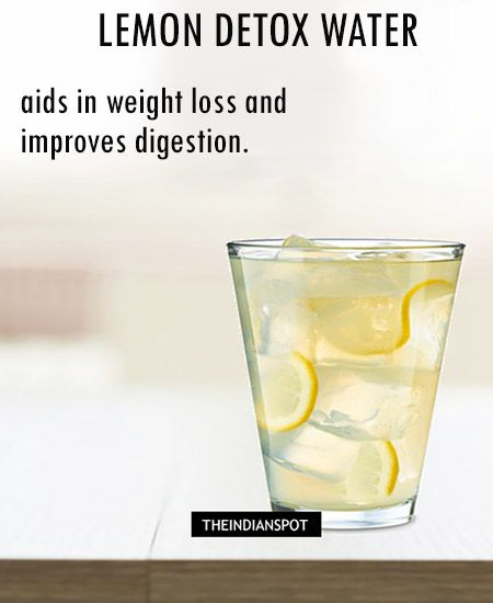 Burn Up Those Calories and Get Glowing With Detox water recipes   THEINDIANSPOT