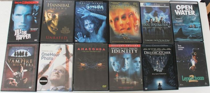 DVD Lot 12 Movies Horror Scary Leprechaun Final Destination 2 Hannibal Rising