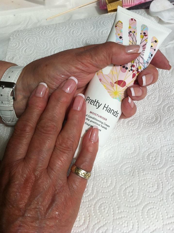 French Polish Nail Varnish - Creative Touch