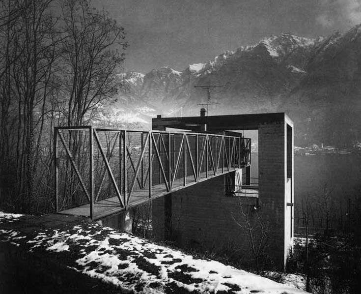 Mario Botta Ville Canton Ticino