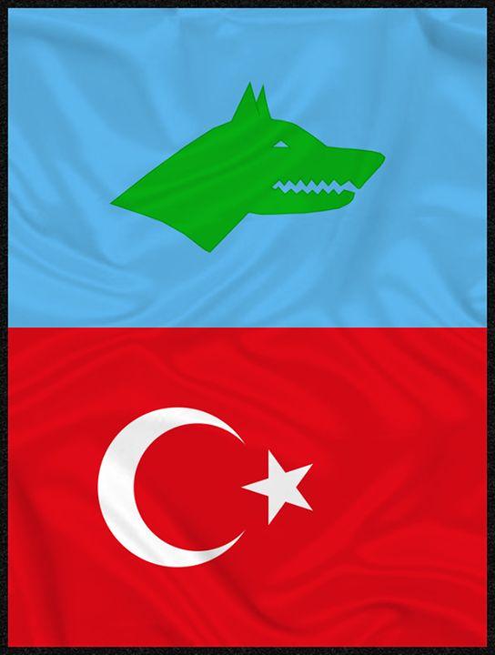 Türkistan dan duyulur Osman Batur un narası Kulaklarımızda yankılanır Atsız Bey İn sesi Atan değil mi Kürşad ve kırk yigit çerisi Kanımızla kuracağız Turan adlı ülkeyi
