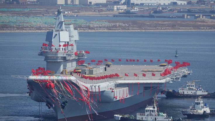 """""""Las relaciones con China no son un juego"""": El nuevo portaaviones de Pekín para los pies a EE.UU."""