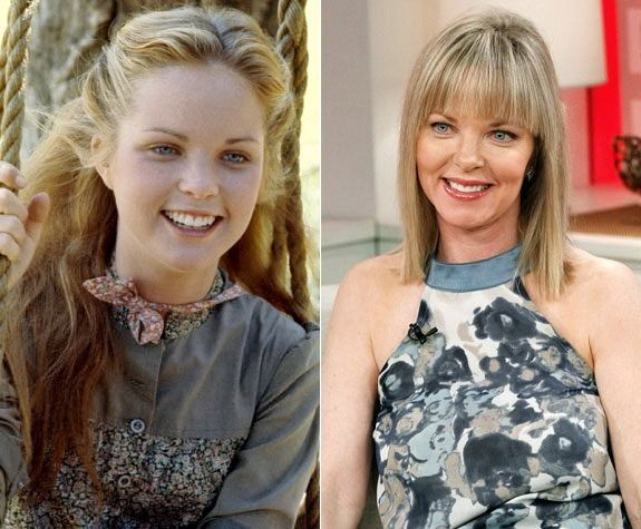Melissa Sue Anderson in Little House on the Prairie