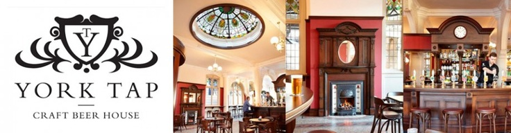 Worth missing your train for an ale or three at York Tap, set in York station.