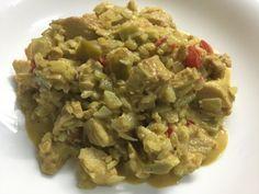 Recetas de Gourmet: Pollo con Arroz Yamaní al Curry