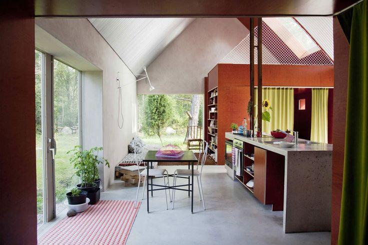 Hamra House by Swedish Architecture Studio DinellJohansson   Yellowtrace