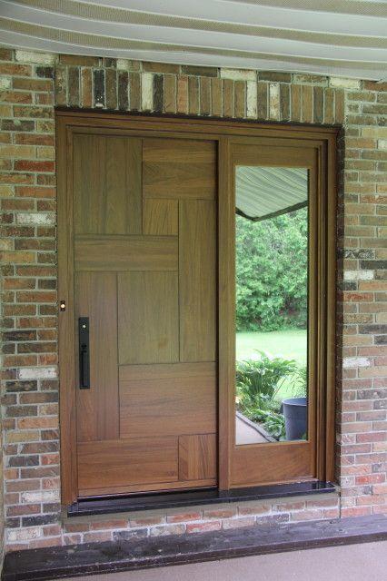 Exterior wooden doors - Les Portes Bourassa fabrique des portes entièrement sur mesure et selon vos goûts. www.PortesBourassa.com