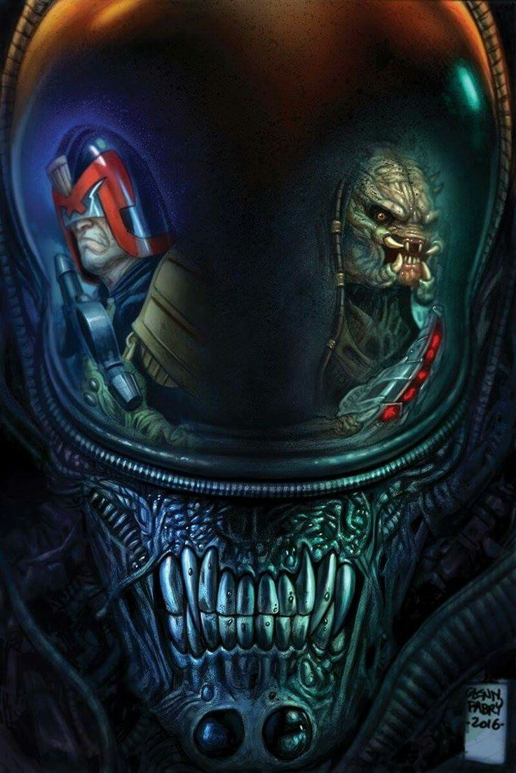 Judge Dredd Predator alien