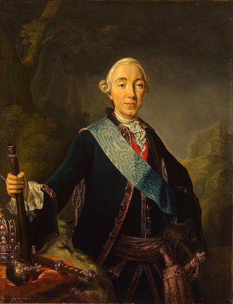 Portrait du grand duc Pierre Federovich, plus tard empereur Pierre III, époux de Catherine II