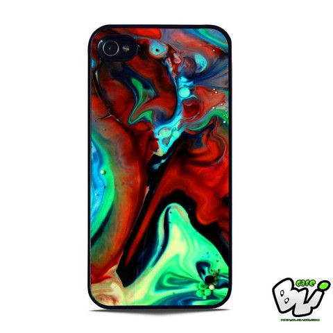 Abstract Liquid iPhone SE Case