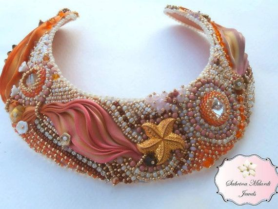 Collana interamente realizzata a mano con di SabrinaMilardiJewels