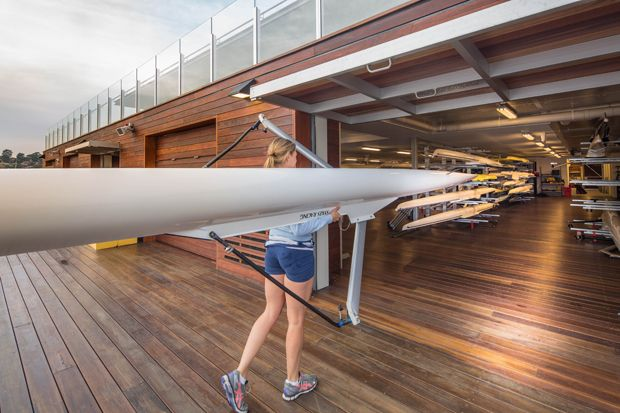 UTS Haberfield Rowing Club by HASSELL Architecture And Design