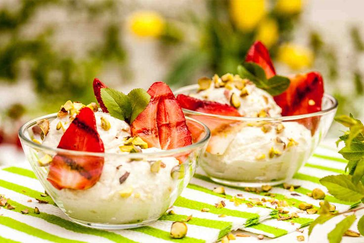 #lody #truskawki #strawberries #icecream #grill #widzimysienagrillu #smacznastrona #mniam #omnomnm #dinner #food #delicious