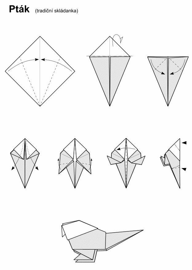 29 best origami images on pinterest. Black Bedroom Furniture Sets. Home Design Ideas