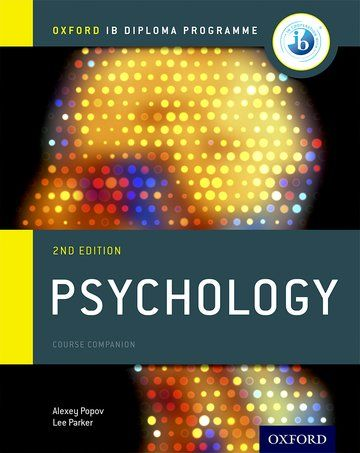 Second Edition The only DP resources developed directly with the IB Author Alexey Popov and Author Lee Parker oxford University Press