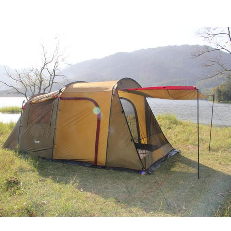 Large Family Outdoor Tents 4 - 8 Person Double Layer Tent ...