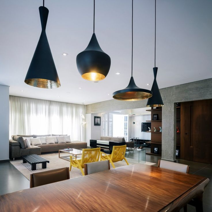 Tom Dixon Beat Lights: Sao Paulo, Lights, Tom Dixon, Maranhão Apartment, Interiors Design, Fc Studios, Apartments, Toms Dixon, Flavio Castro