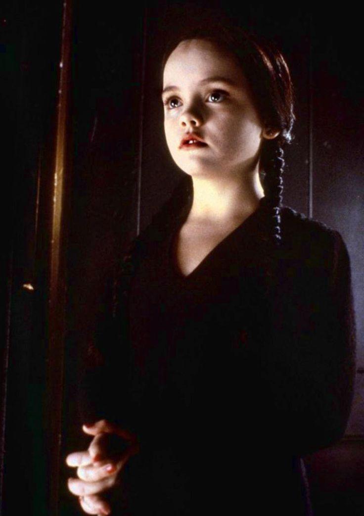 """Christina Ricci en """"La familia Addams"""" (The Addams Family), 1991"""