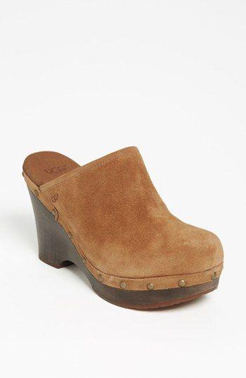 UGG® Australia 'Marsalis' Clog (Women) available at #Nordstrom